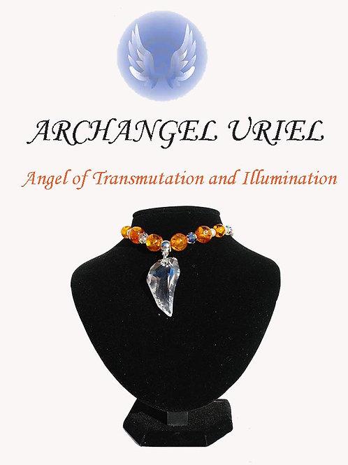 Archangel Uriel Necklace - Prophetic & Insight