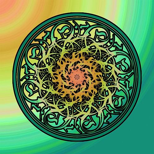 Se He Kei Mandala 12 X 12 Art Work