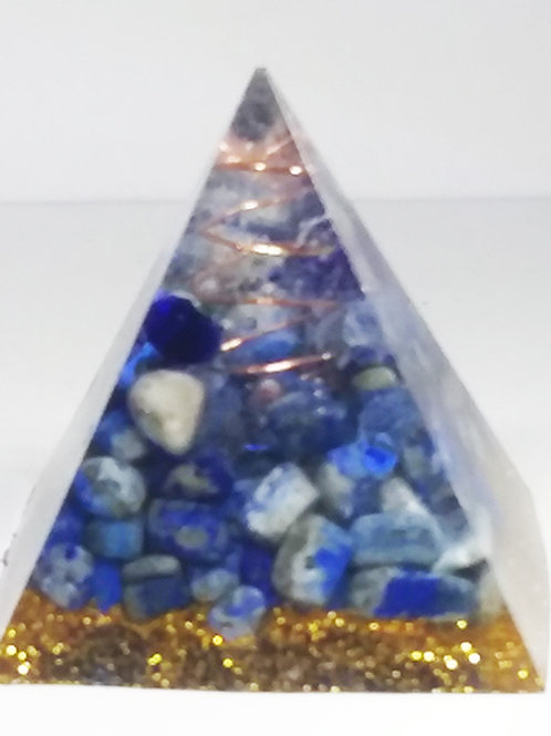 Lapis Lazuli Pyramid - Great for meditation and Intuition