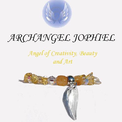 Archangel Jophiel Bracelet-Creativity, Beauty, Art