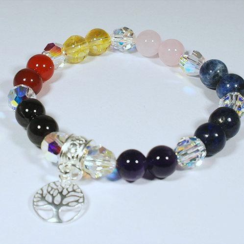 Chaka Bracelet with Tree of Life Charm