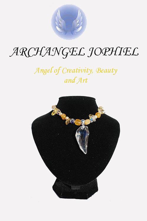 Archangel Jophiel Necklace-Creativity, Beauty, Art