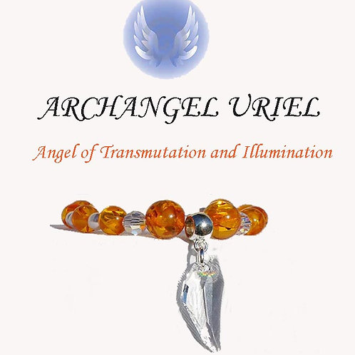 Archangel Uriel  Bracelet - Prophetic & Insight