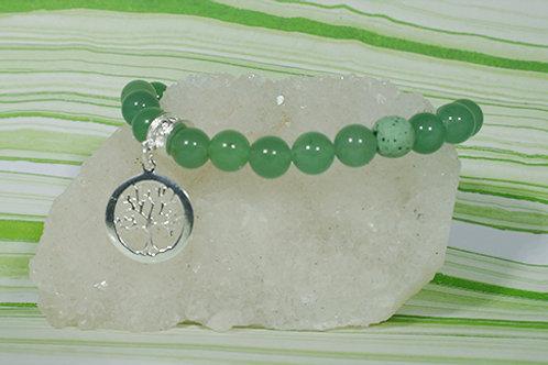 Aventurine Diffuser Bracelet - Prosperity