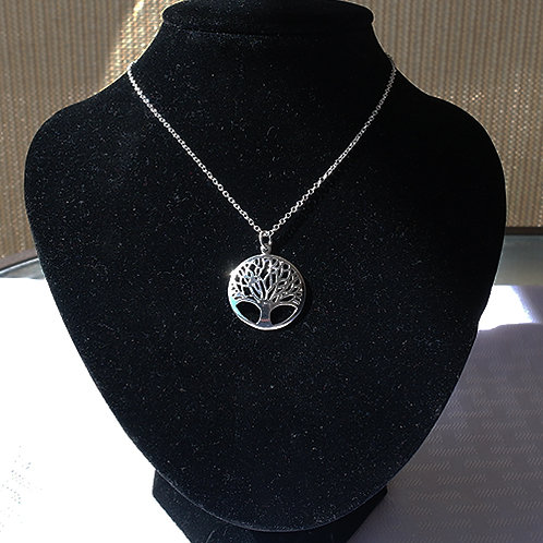 Tree Of Life .925 Sterling Silver Necklace