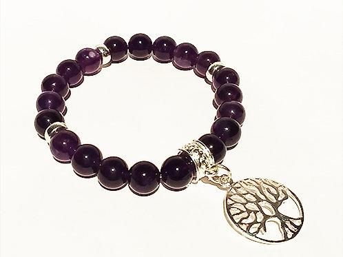 Amethyst Bracelet - Prosperity