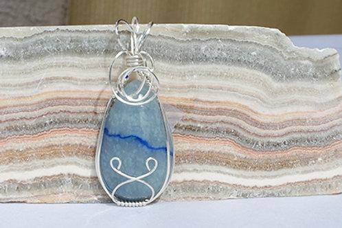 Blue Quartz - Balances lower & higher chakras