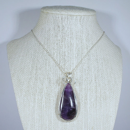 Amethyst Pendant-Great to help in meditation