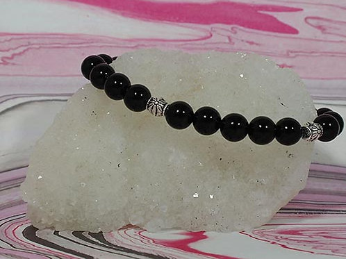 Black Onyx  Bracelet - Grounding