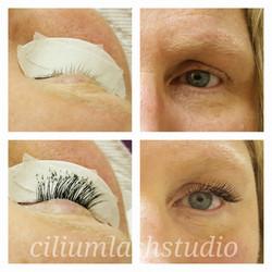 Emerald Set-eyelash extensions