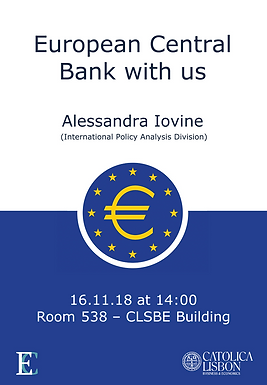 European Central Bank with us
