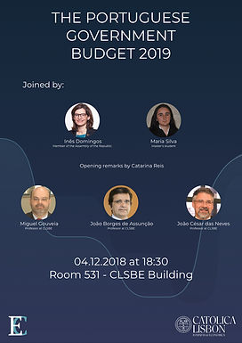 The Portuguese Government Budget 2019