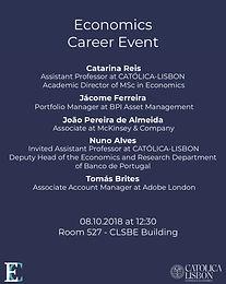 Economics Career Event