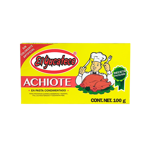 Achiote en pasta 100g