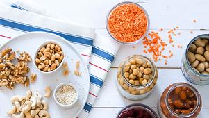 Met deze producten kom jij aan je dagelijkse eiwitten