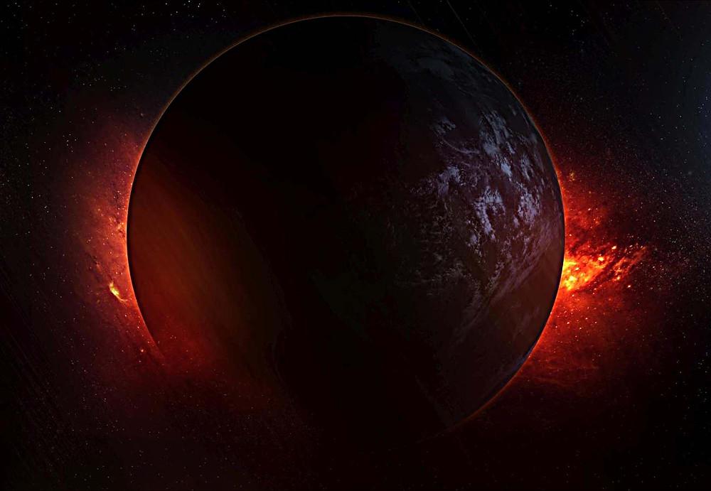 Artist Rendering: Planet Hercolubus