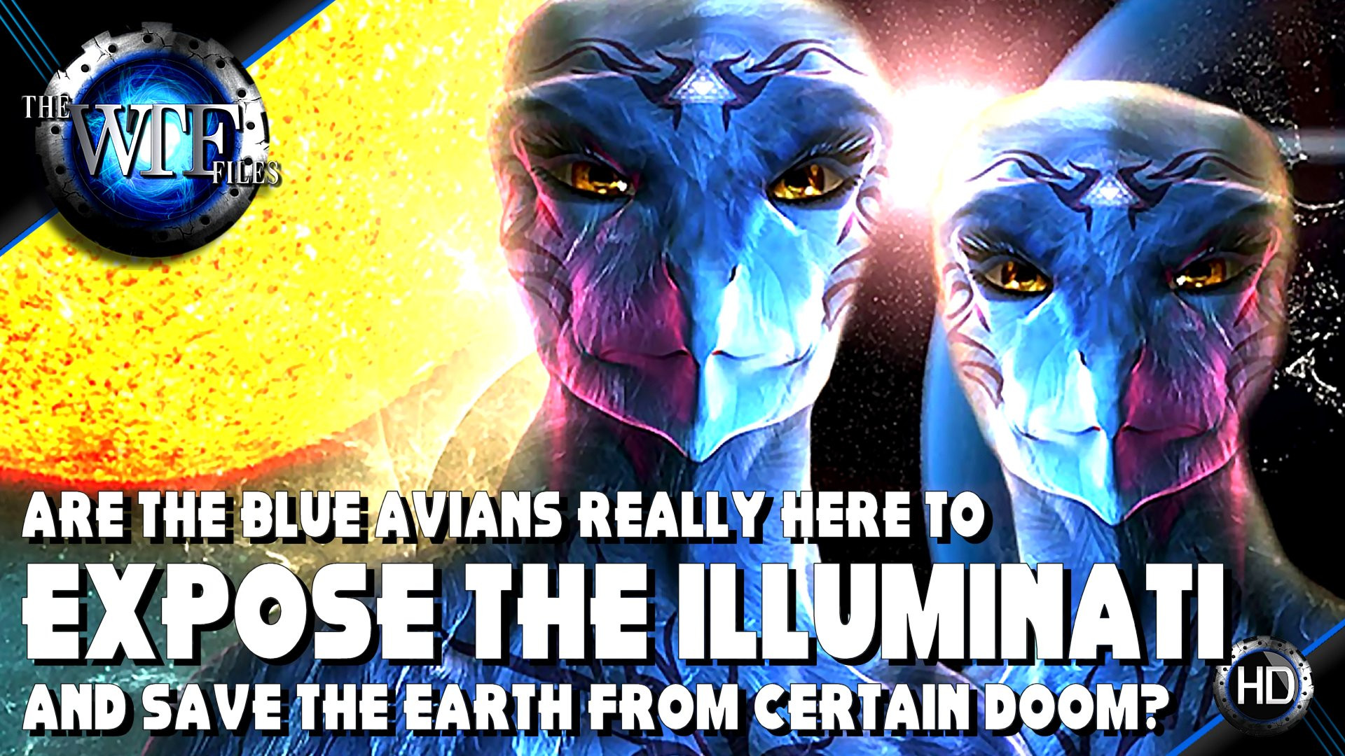 blue avians aliens