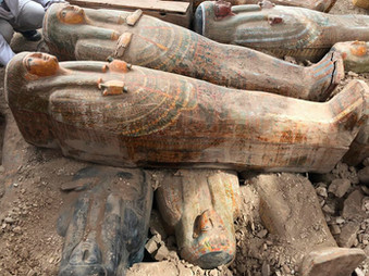 2,500 Year old Coffins Unearthed in Egypt! Researchers Baffled