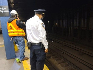 Third person shoved onto New York City subway tracks within a week