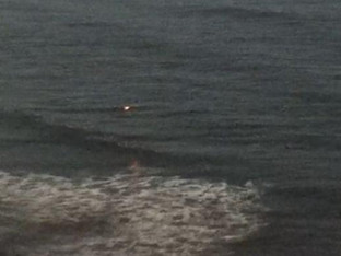 Does a recent rash of UFO sightings in Malibu Calif. confirm under water base is real?