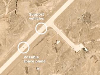 China's New Top Secret Space Plane Captured Landing at Secret Base in China