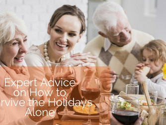 Expert Advice on How to Survive the Holidays Alone or With Those You'd Rather Not See