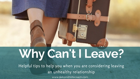 woman leaving, unhealthy relationship