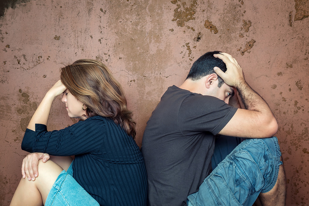 divorce, couple, sadness