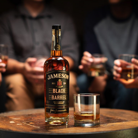 Jameson's Black Barrel