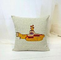 The Beatles - Yellow Submarine - Cushion