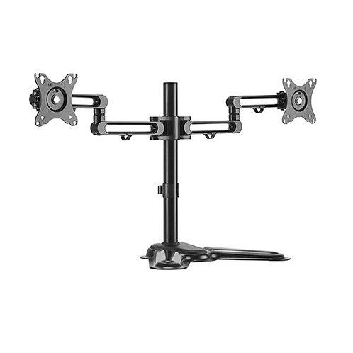 Brateck Dual Monitor Premium Articulating Aluminum Monitor Stand