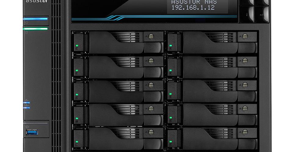 "Asustor AS7110T 10 Bay 3.5"" Intel Xeon Quad-Core Virtualization NAS"