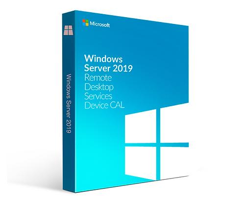 Microsoft Windows Server 2019 Remote Desktop Services 1 User/Device CAL