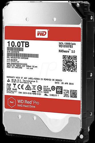 """Western Digital WD Red PRO 10TB NAS 3.5"""" SATA HDD"""