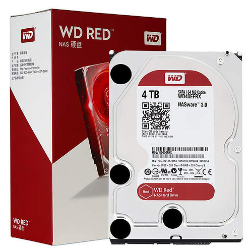 "Western Digital WD Red 4TB 3.5"" SATA HDD"