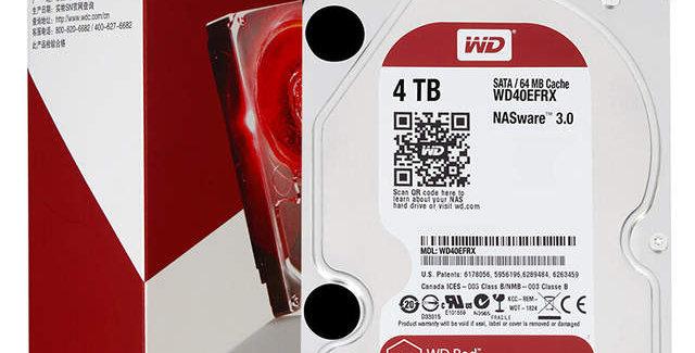 """Western Digital WD Red 4TB 3.5"""" SATA HDD"""