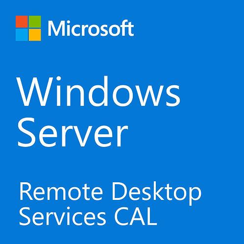 Microsoft Windows Server 2016 Remote Desktop Services 5 User CAL