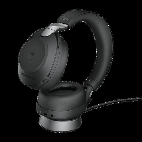 Jabra Evolve2 85 MS Wireless USB-C Stereo Stand Black Premium Headset