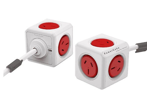 ALLOCACOC POWERCUBE Extended 5 Outlets, 3M