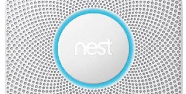 Google Nest Protect Smoke Alarm White - Battery