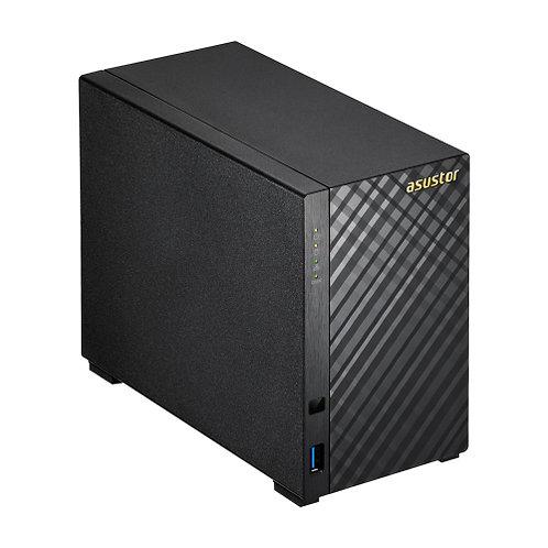 """Asustor AS1002T 2 Bay 3.5"""" Dual Core NAS"""
