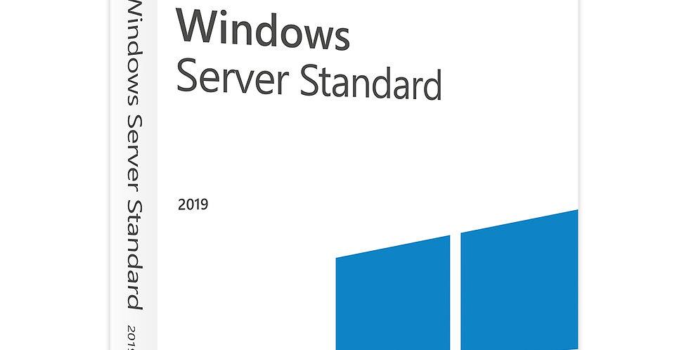 Microsoft Server Standard 2019 – 4 Core Licence