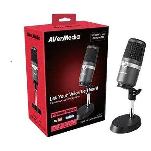 AVerMedia AM310 Condenser USB Microphone, Studio Quality Sound