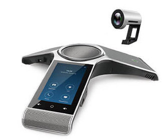 Yealink UVC30 4K USB PTZ Camera and CP960Conference Phone Rooms Kit