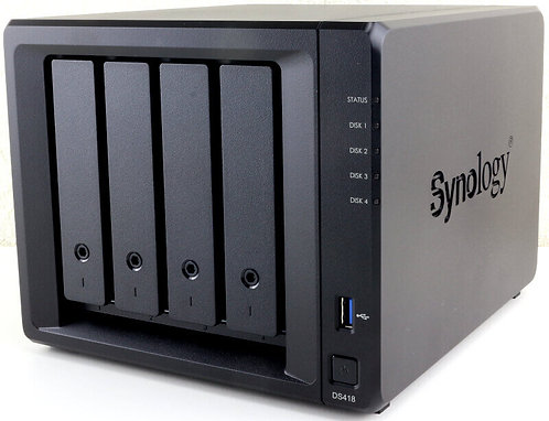 """Synology DiskStation DS418 4-Bay 3.5"""" Quad-Core NAS"""