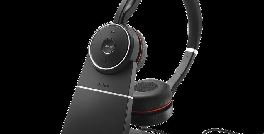 Jabra EVOLVE 75 Stereo UC Wireless Headset + charging stand