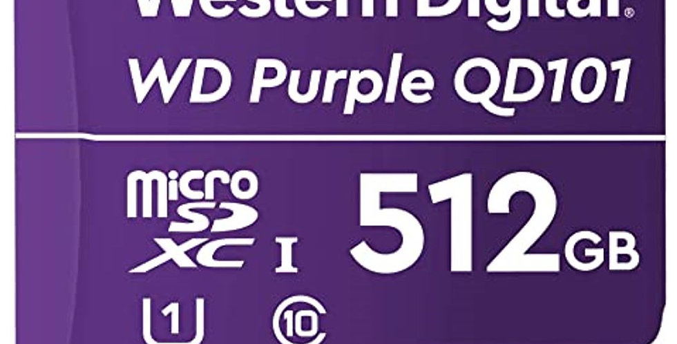 Western Digital WD Purple 512GB MicroSDXC Card