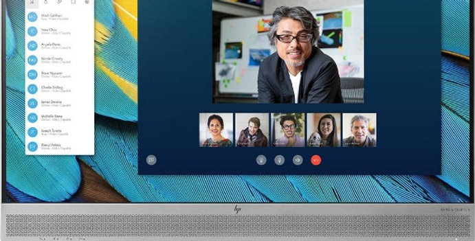 "HP E243m 23.8"" IPS FHD Monitor Built-in Webcam"