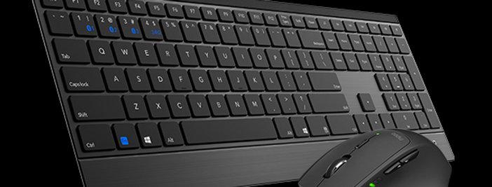 RAPOO 9500M Wireless Keyboard Mouse Combo