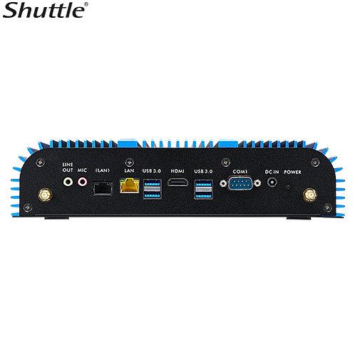 Shuttle Dual Gigabit Lan Rugged Embedded Box PC